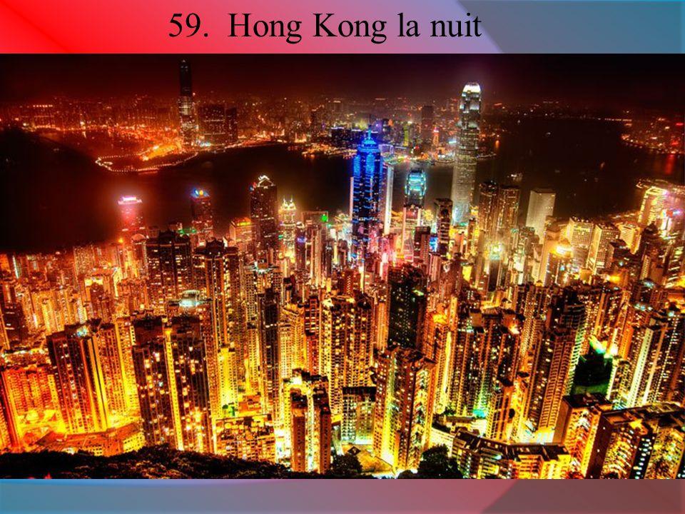 59. Hong Kong la nuit