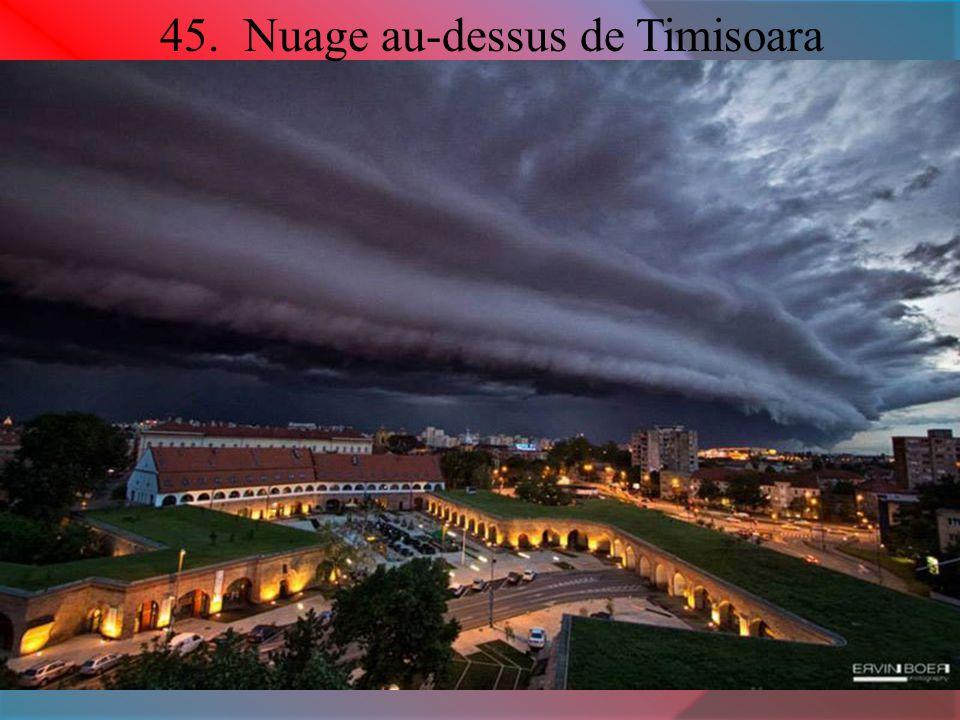 45. Nuage au-dessus de Timisoara