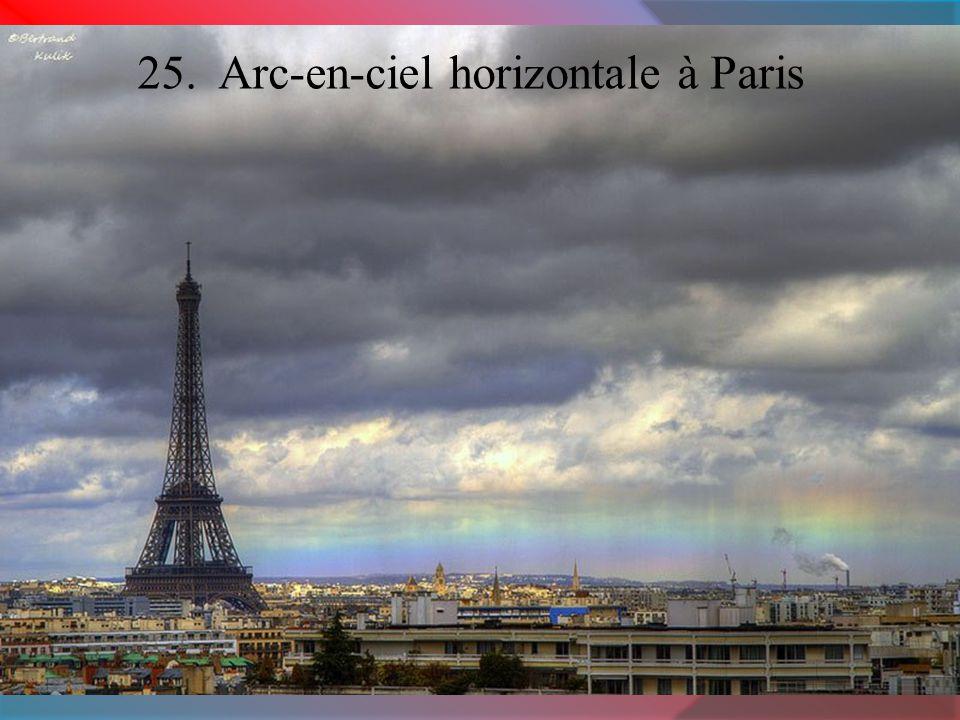 25. Arc-en-ciel horizontale à Paris