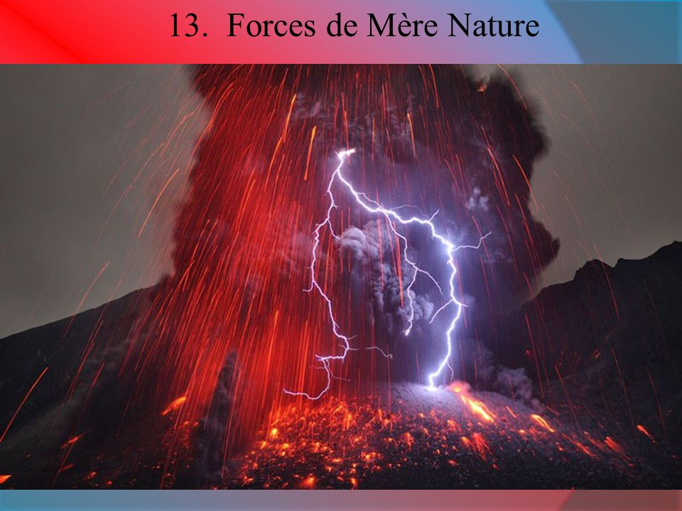 13. Forces de Mère Nature