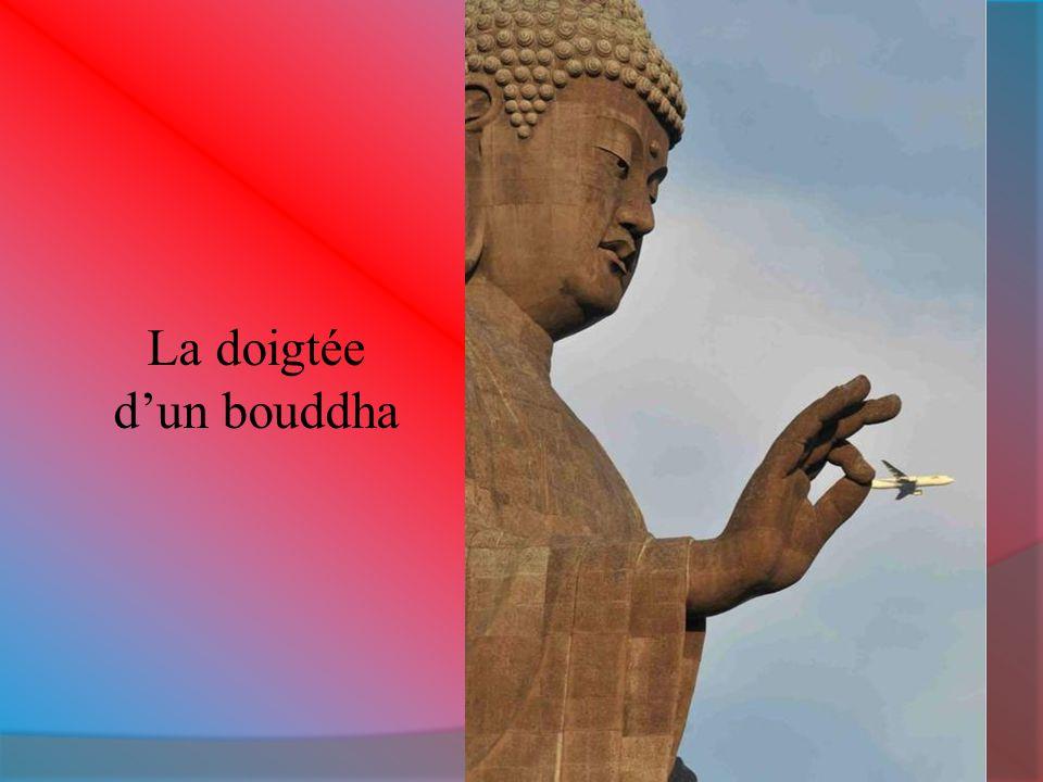 La doigtée d'un bouddha