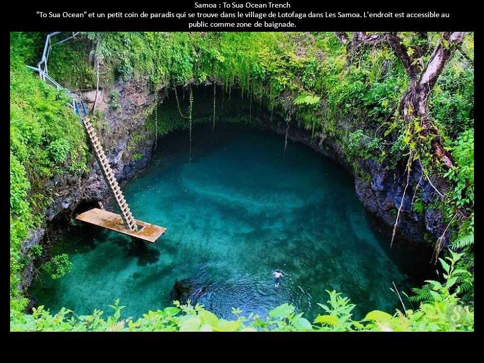 Samoa : To Sua Ocean Trench