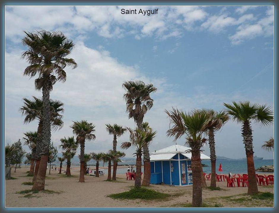 Saint Aygulf la plage