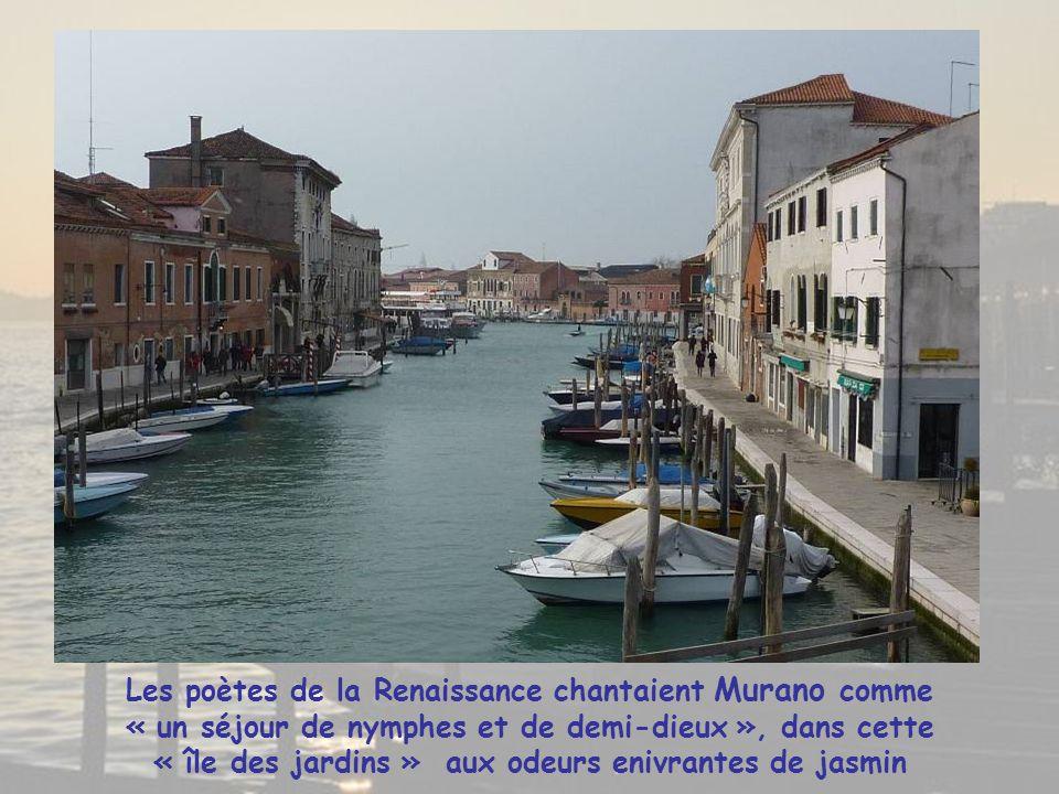 Pour rejoindre les îles de Murano et Burano nous passerons devant la Basilique San Giorgio Majore située sur une île du bassin St Marc.