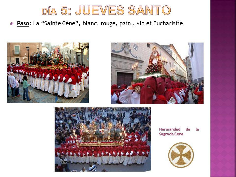  Paso: La Sainte Cène , blanc, rouge, pain, vin et Éucharistie.