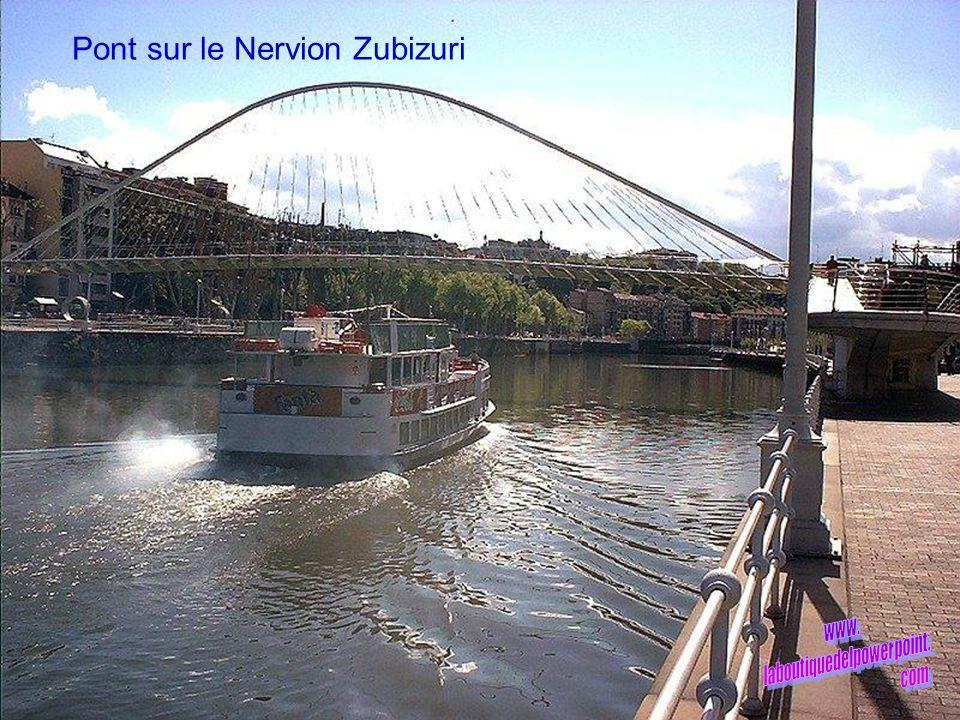Pont sur le Nervion Zubizuri