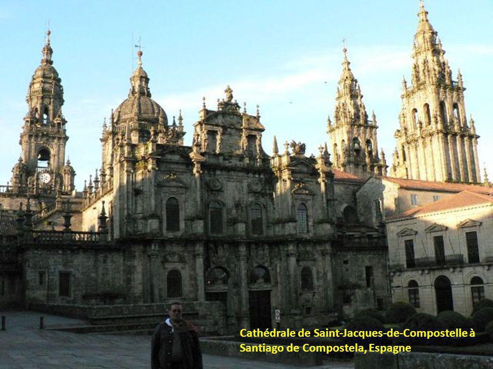 Cathédrale de Saint-Jacques-de-Compostelle à Santiago de Compostela, Espagne