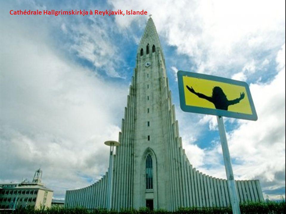 Cathédrale Hallgrimskirkja à Reykjavik, Islande