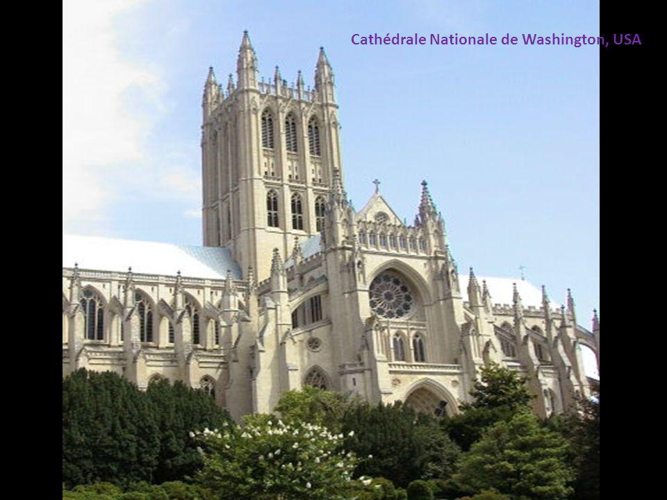 Cathédrale Nationale de Washington, USA