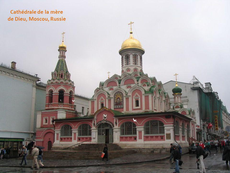 Cathédrale de la mère de Dieu, Moscou, Russie