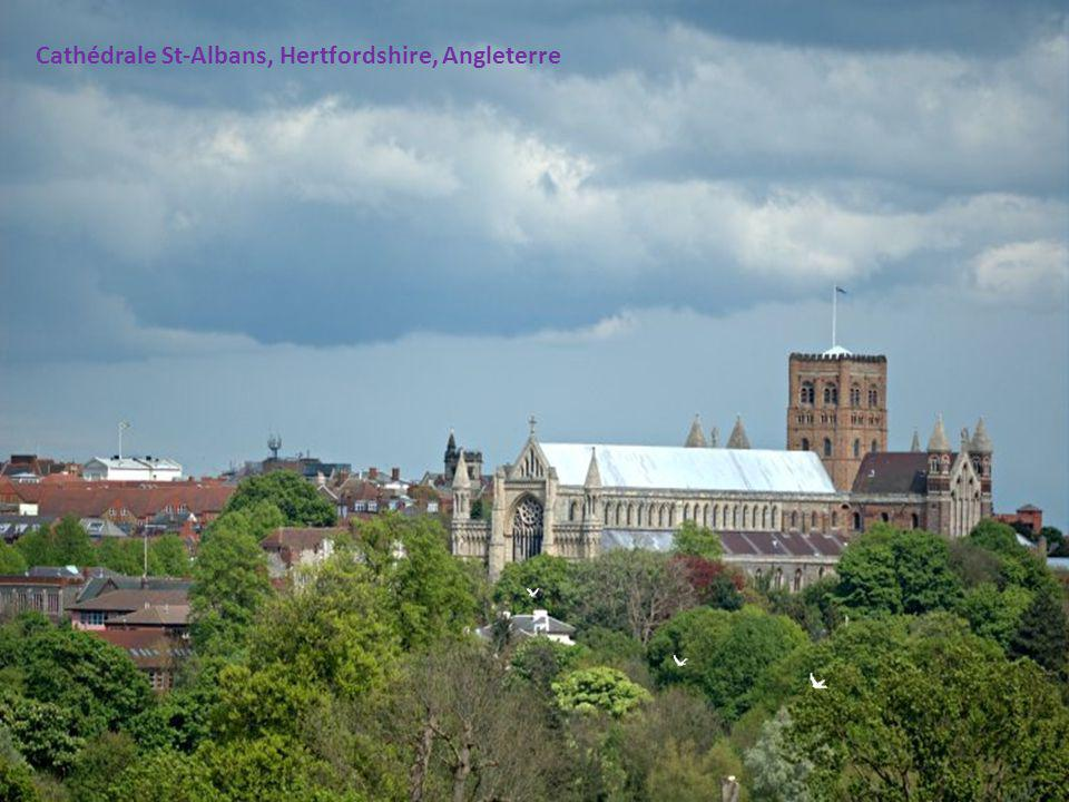 Cathédrale St-Albans, Hertfordshire, Angleterre