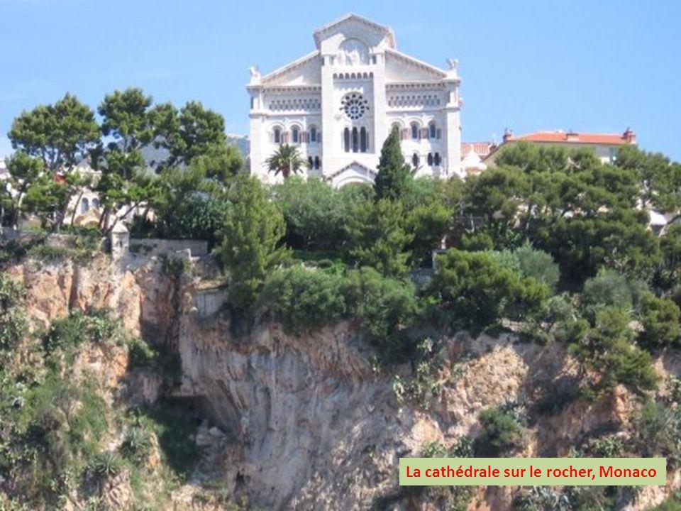 La cathédrale sur le rocher, Monaco
