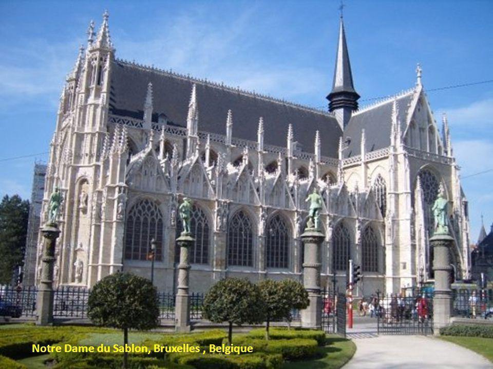 Notre Dame du Sablon, Bruxelles, Belgique