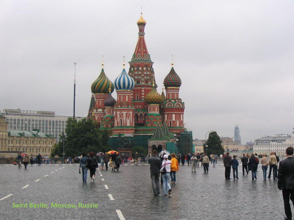 Saint Basile, Moscou, Russie
