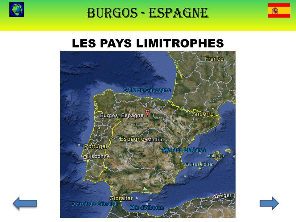 LES PAYS LIMITROPHES