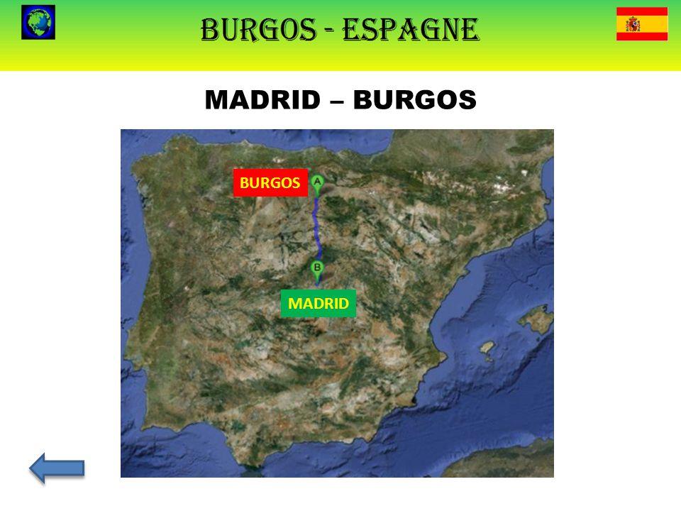 MADRID – BURGOS MADRID BURGOS