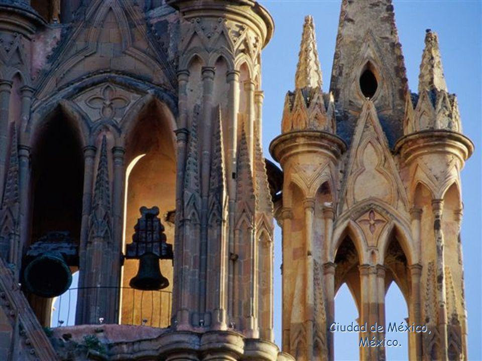 Cathédrale, du Santiago, Chili