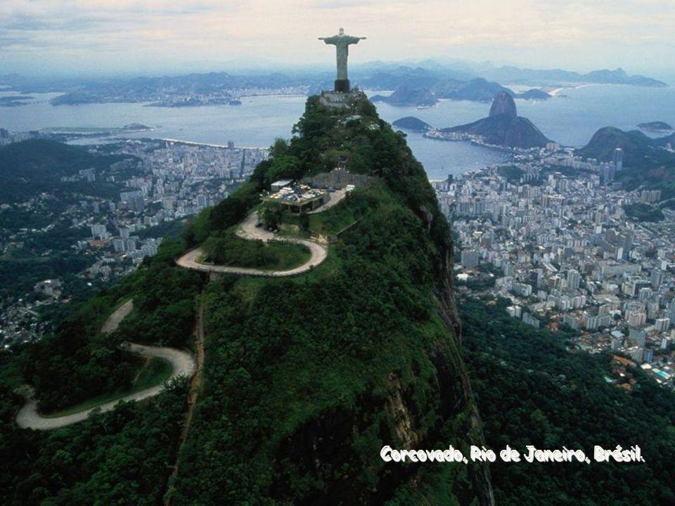 Corcovado, Rio de Janeiro, Brésil.