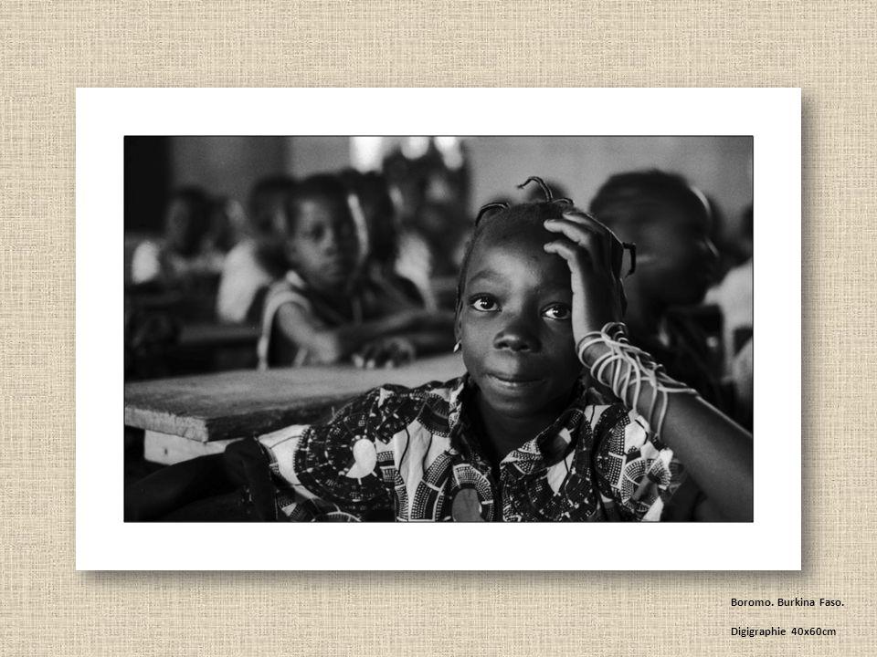 Boromo. Burkina Faso. Digigraphie 40x60cm