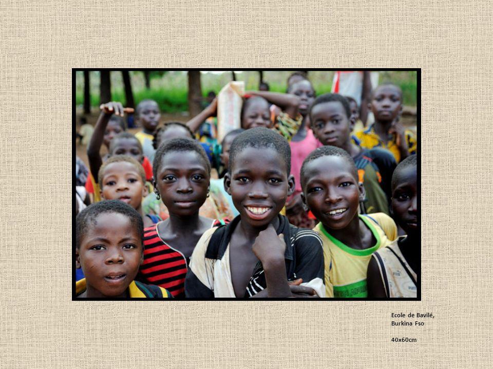 Ecole de Bavilé, Burkina Fso 40x60cm