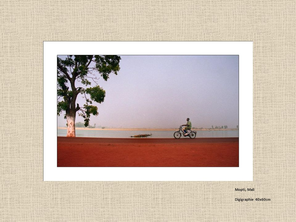 Mopti, Mali Digigraphie 40x60cm