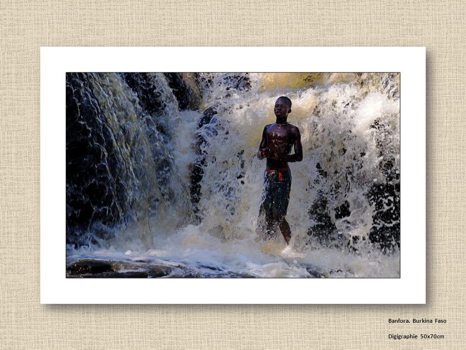 Banfora. Burkina Faso Digigraphie 50x70cm