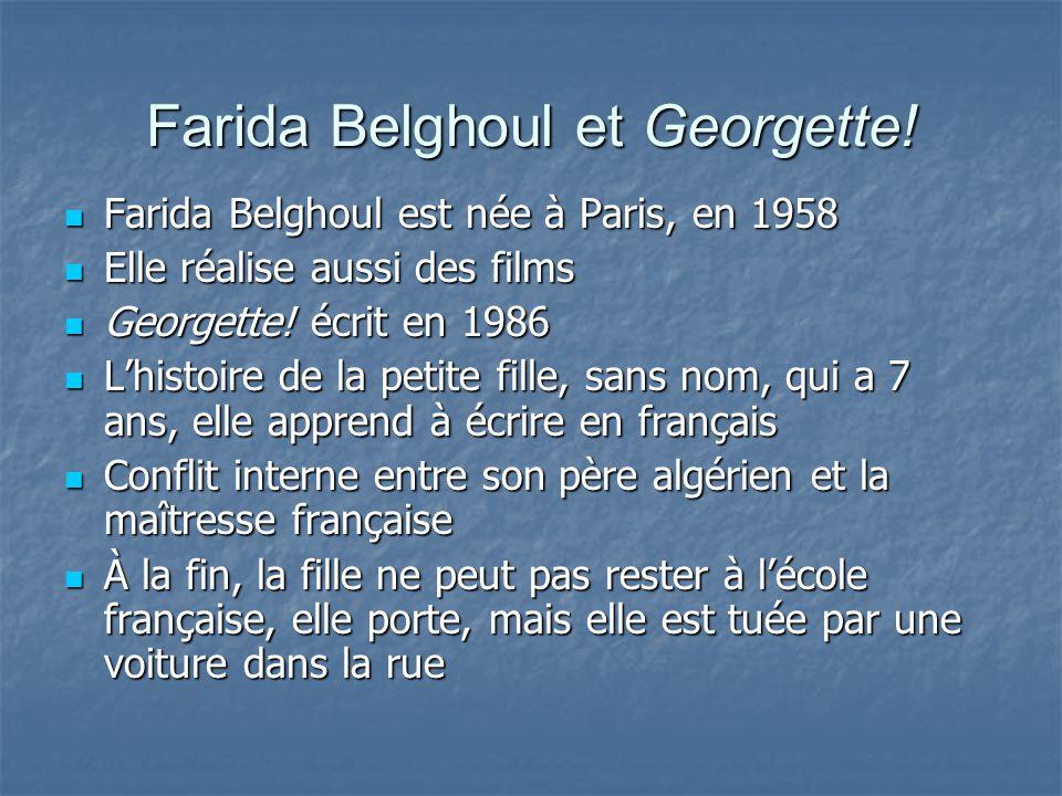 Farida Belghoul et Georgette.