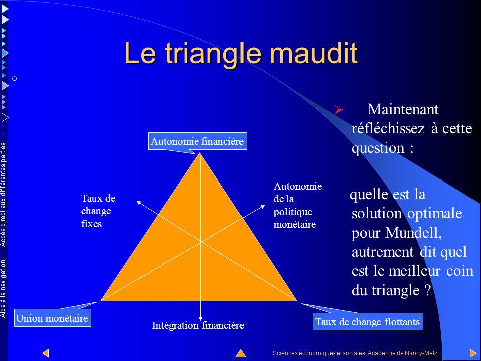 Accès direct aux différentes parties Sciences économiques et sociales, Académie de Nancy-Metz Aide à la navigation Cas n o 3 En résumé, dans le coin e