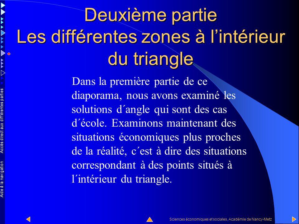 Accès direct aux différentes parties Sciences économiques et sociales, Académie de Nancy-Metz Aide à la navigation  La stabilité des taux de change et le libre accès au marché international du capital impliquent l´abandon de l´autonomie de la politique monétaire.
