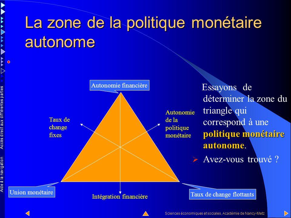 Accès direct aux différentes parties Sciences économiques et sociales, Académie de Nancy-Metz Aide à la navigation Un peu d´histoire Ce cas de figure