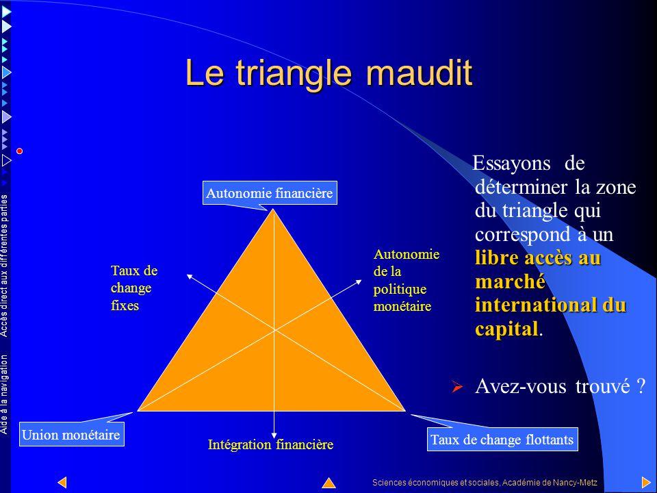 Accès direct aux différentes parties Sciences économiques et sociales, Académie de Nancy-Metz Aide à la navigation Un peu d'histoire Ce cas de figure
