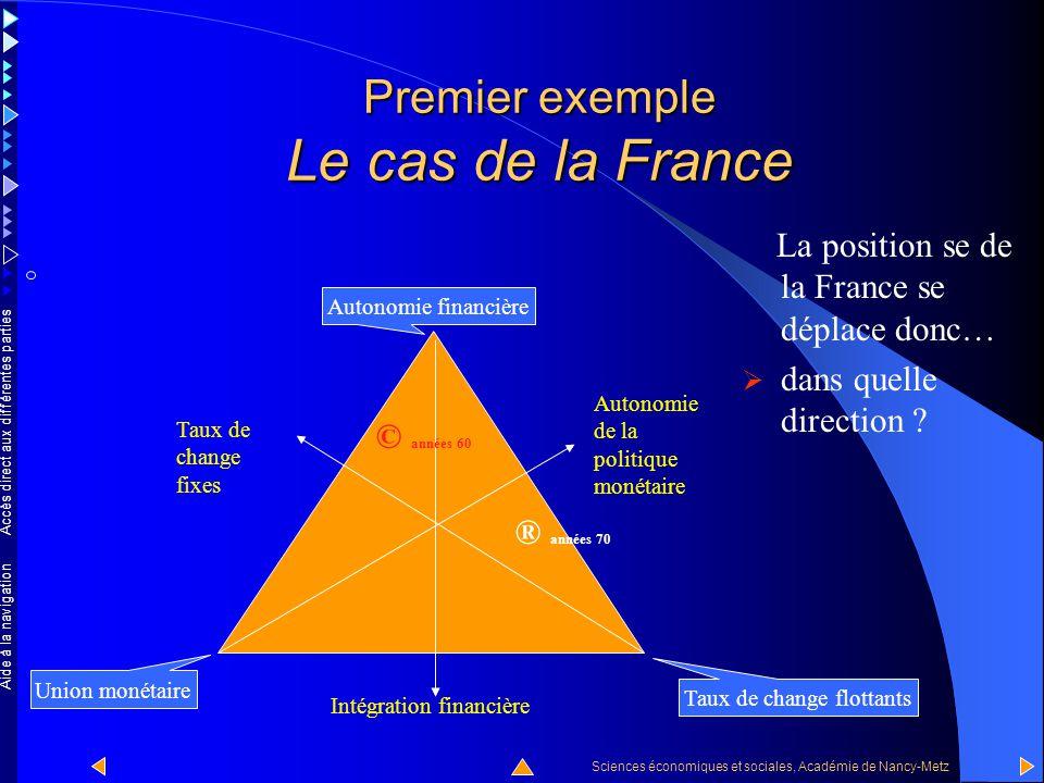 Accès direct aux différentes parties Sciences économiques et sociales, Académie de Nancy-Metz Aide à la navigation A partir des années 90, la France p