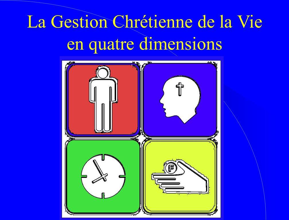 La Gestion Chrétienne de la Vie en quatre dimensions