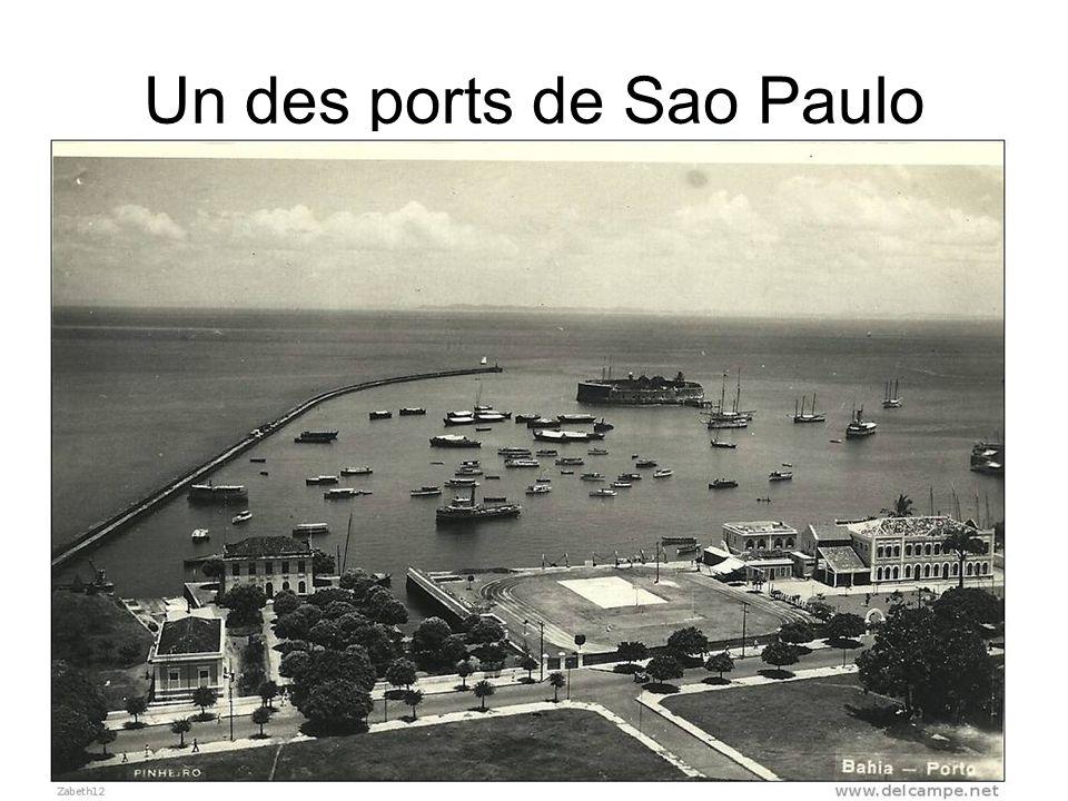 Un des ports de Sao Paulo