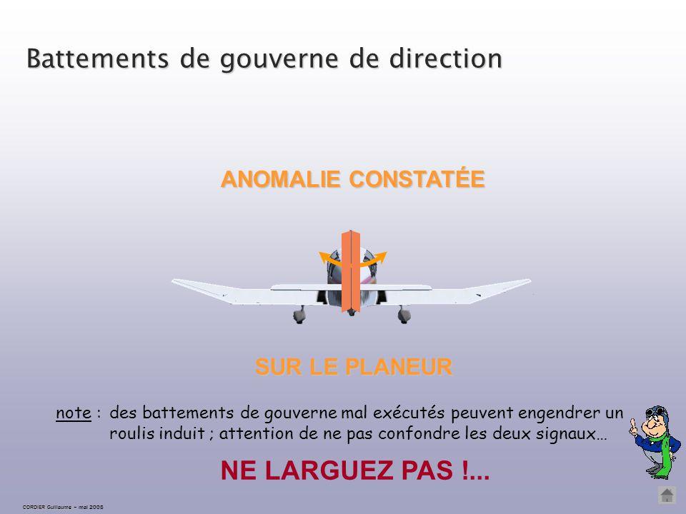 CORDIER Guillaume CORDIER Guillaume – mai 2005 Battements d'ailes LARGAGE IMPÉRATIF IMMÉDIAT ET