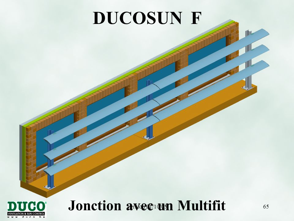 version 01/10/0565 DUCOSUN F Jonction avec un Multifit