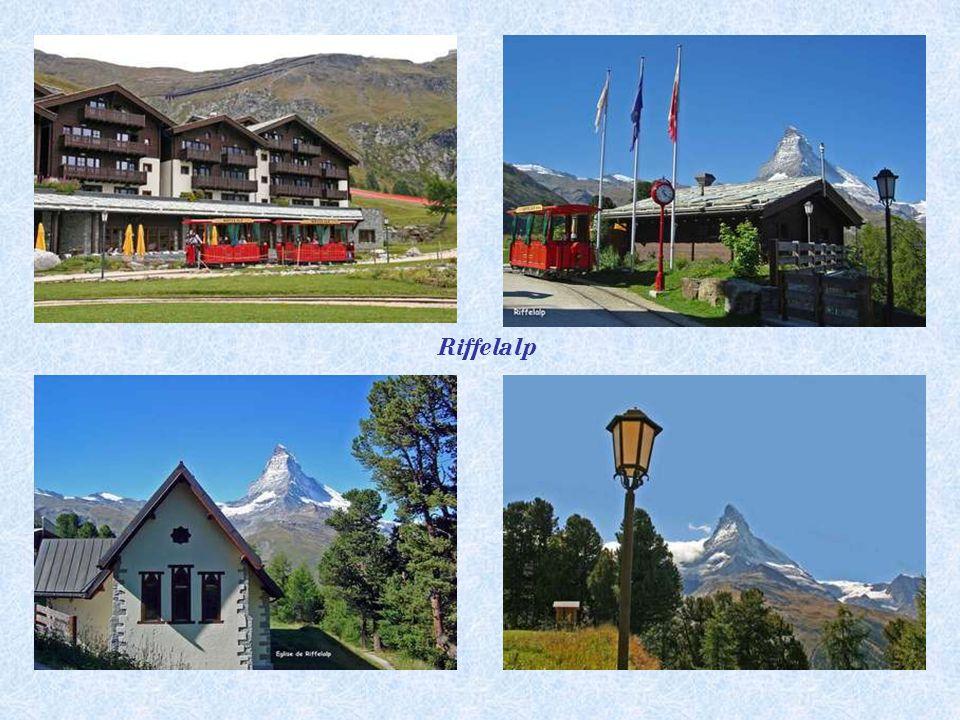 Le tramway le plus haut d'Europe – longueur des voies 675 m.