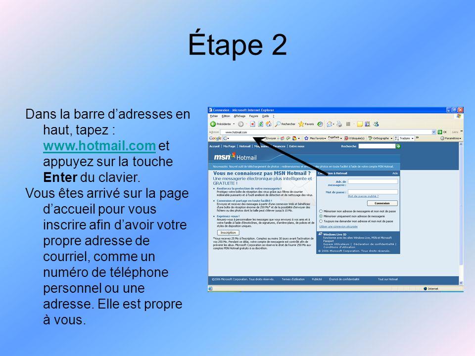 Étape 3 Cliquez sur «Inscription» dans un rectangle gris en bas à gauche de l'interface du site Internet.