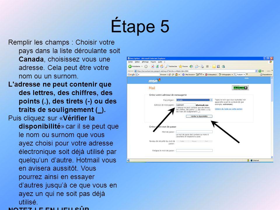 Étape 15 Dans la page qui s'ouvre, dans le Champ «À», inscrivez l'adresse électronique de la personne à qui vous désirez envoyer un message.