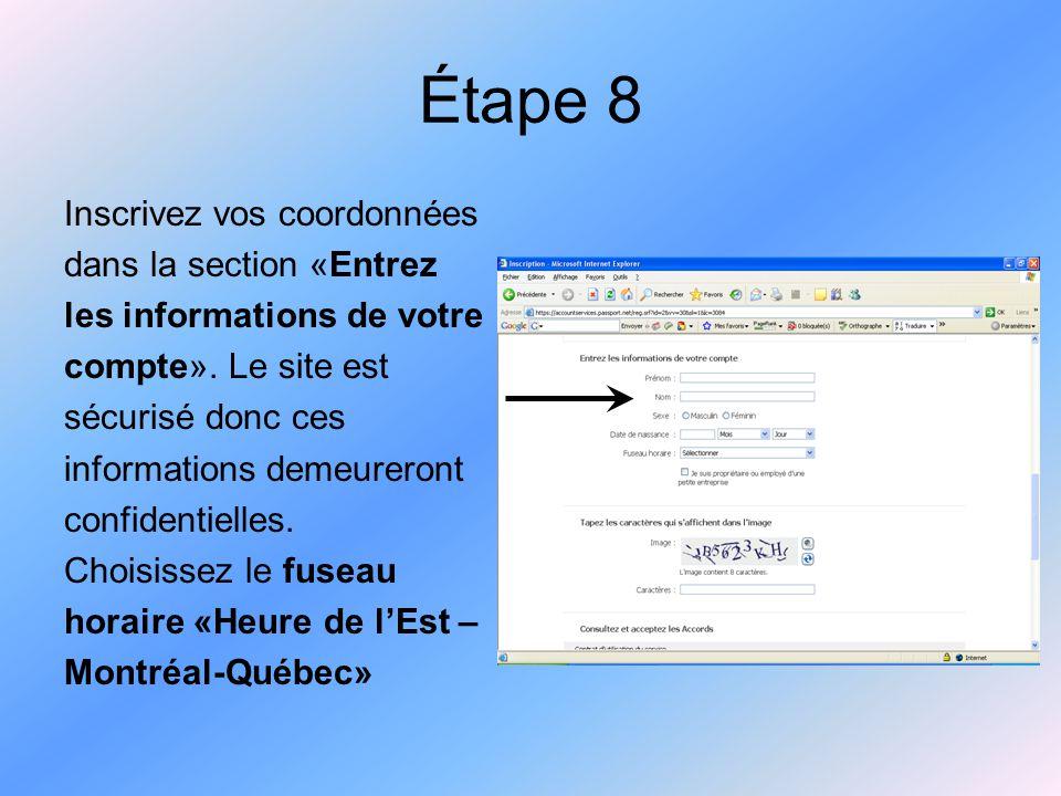 Étape 9 Tapez les caractères que vous apercevez à l'écran. Ceci est une simple mesure de sécurité.