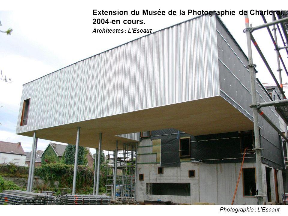 Photographie : L'Escaut Extension du Musée de la Photographie de Charleroi, 2004-en cours.