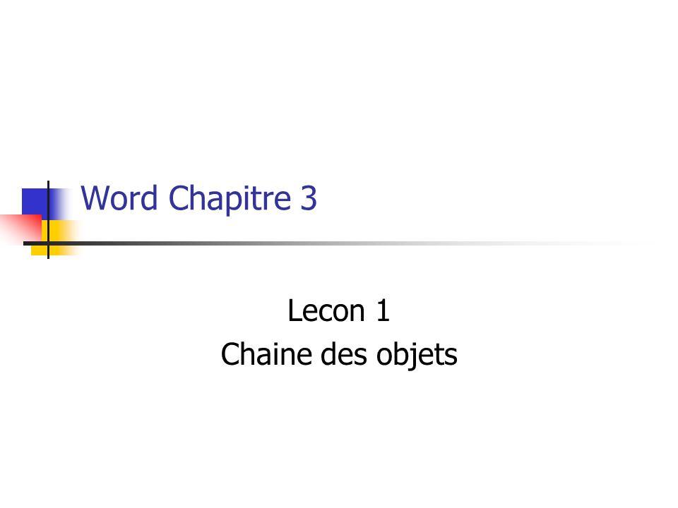 86 You are learning Microsoft Word Chapter 3 Click to Continue  Documentation Les Wizards sont utilises pour des calendriers, des agendas, des couvertures de faxs et des repertoires.