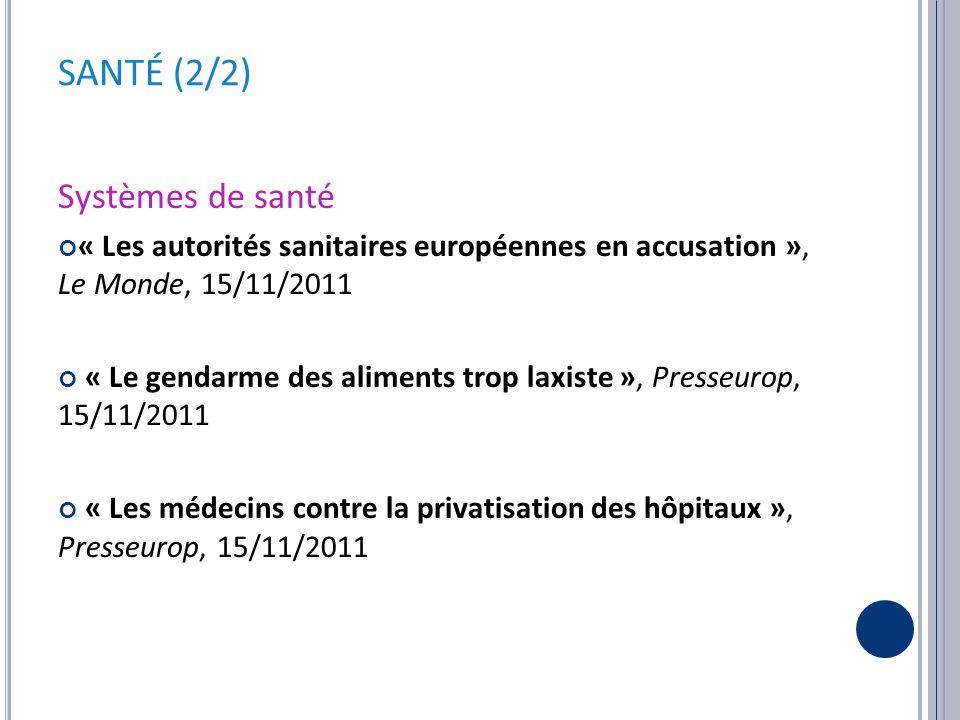 FÉCONDITÉ – CONDITION DE LA FEMME « De nouvelles carrières au féminin », Le Monde, 16/11/2011