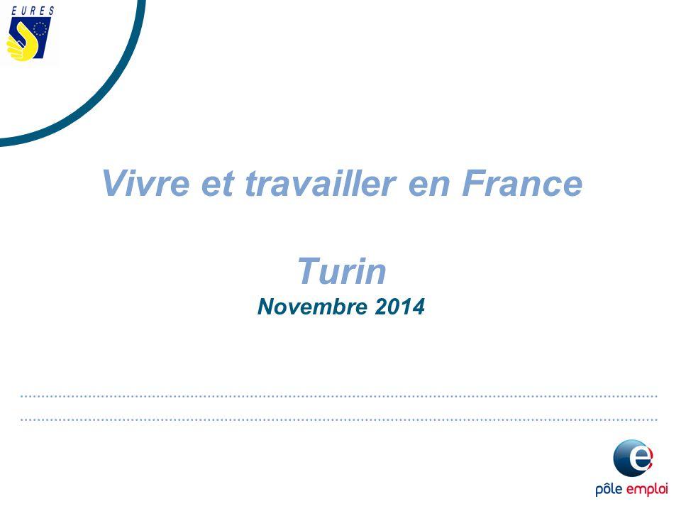 Vivre et travailler en France Turin Novembre 2014