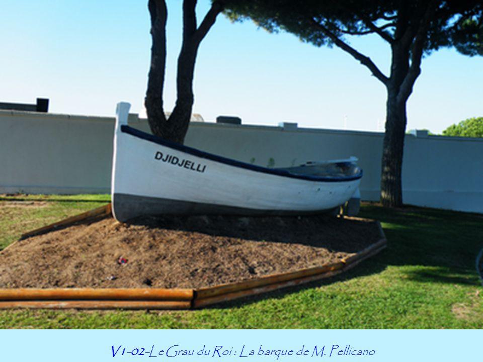 V1-02-Le Grau du Roi : La barque de M. Pellicano