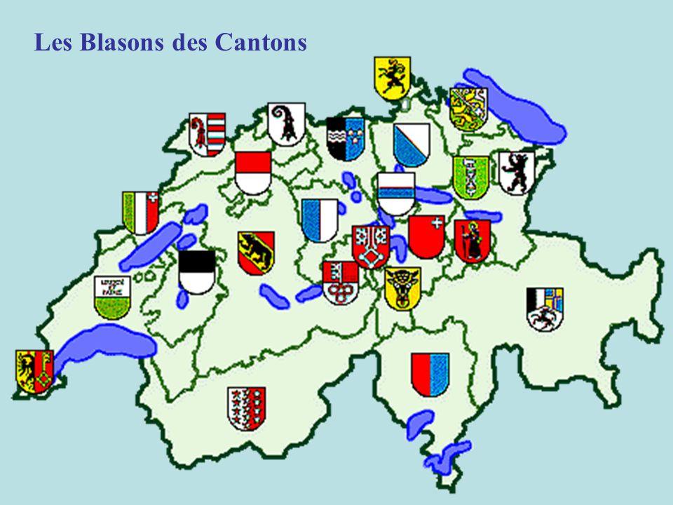 Les Blasons des Cantons