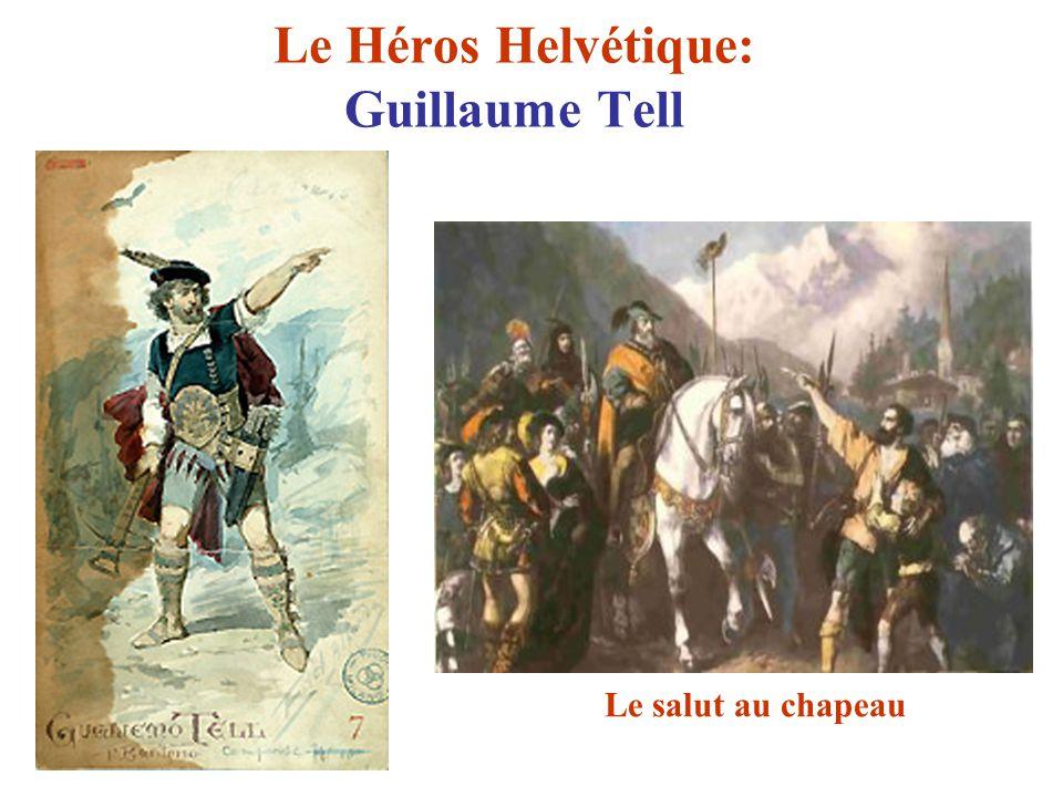 Le Héros Helvétique: Guillaume Tell Le salut au chapeau