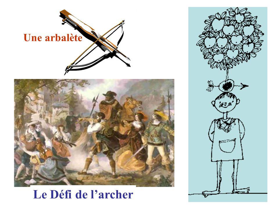 Le Défi de l'archer Une arbalète