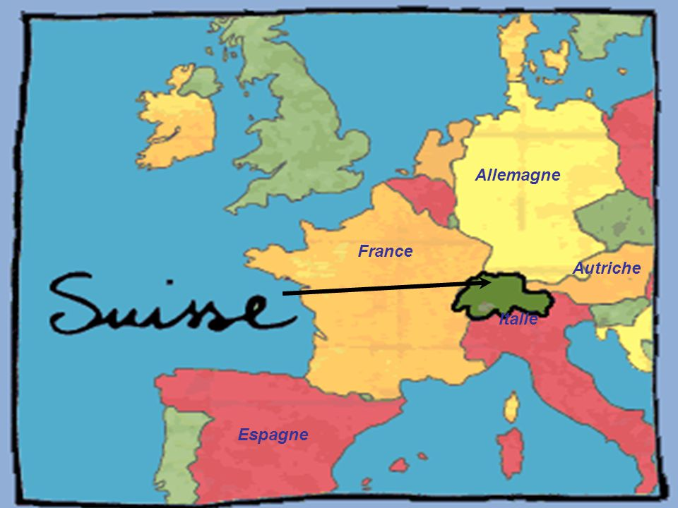 France Espagne Italie Allemagne Autriche