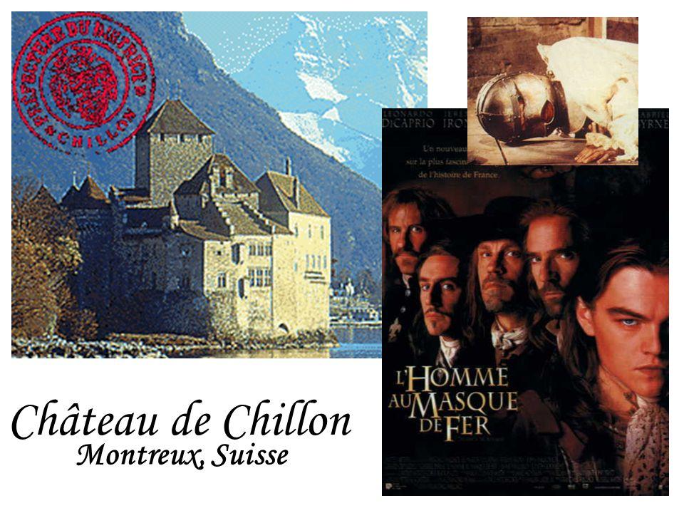 Château de Chillon Montreux, Suisse